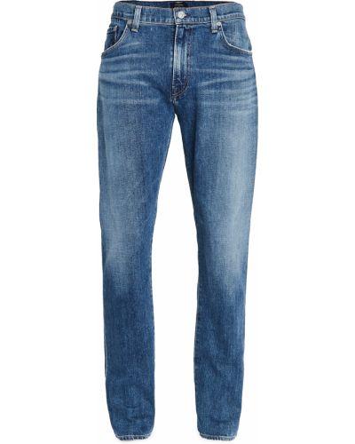 Niebieskie jeansy bawełniane Citizens Of Humanity