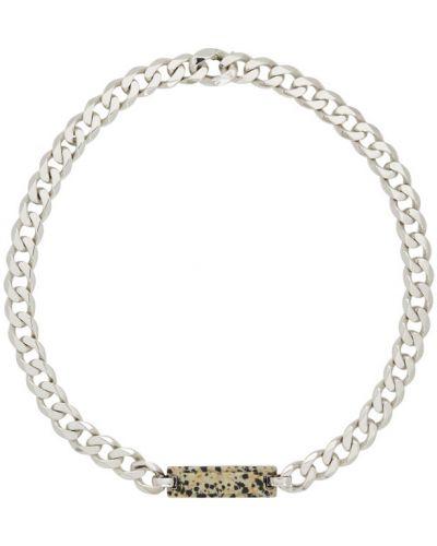 Серебряное ожерелье Bottega Veneta