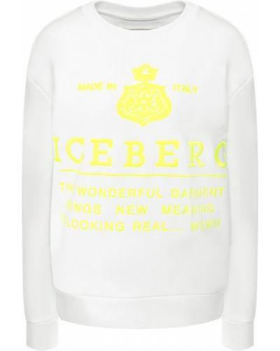 Свитер легкий с вырезом Iceberg