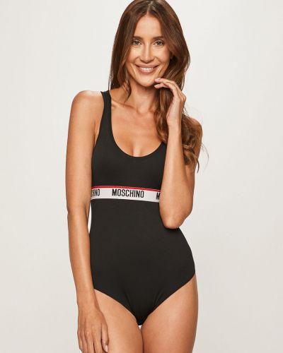 Strój kąpielowy ciało czarny Moschino Underwear
