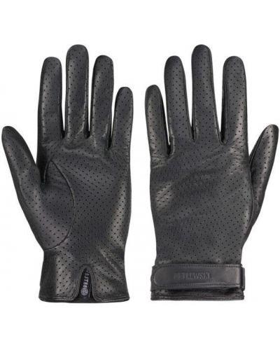 Кожаные перчатки - черные Betlewski