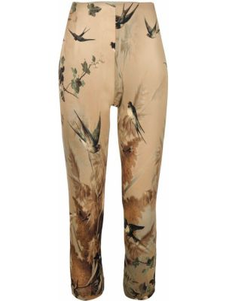Укороченные брюки с поясом узкого кроя винтажные Jean Paul Gaultier Pre-owned