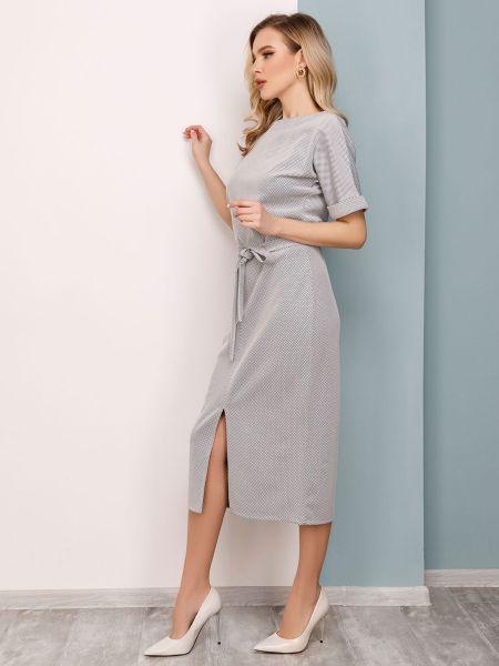 Серое платье Issa Plus
