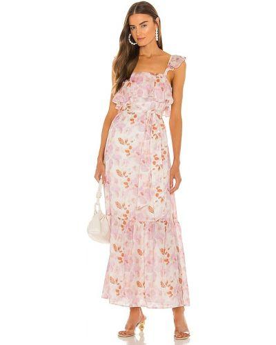 Платье макси короткое - розовое House Of Harlow 1960