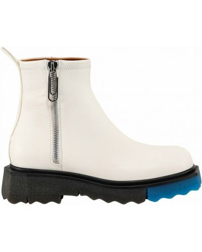 Białe ankle boots Off-white