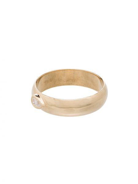 Кольцо золотое с бриллиантом Zoë Chicco