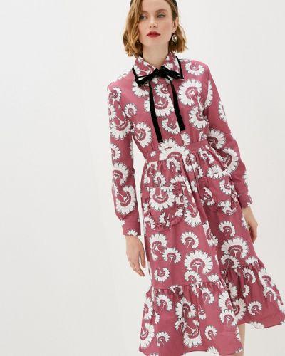 Прямое розовое платье Sister Jane