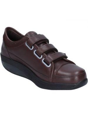 Brązowe sneakersy Mbt