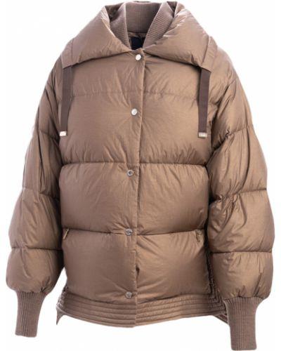 Brązowy płaszcz Moorer