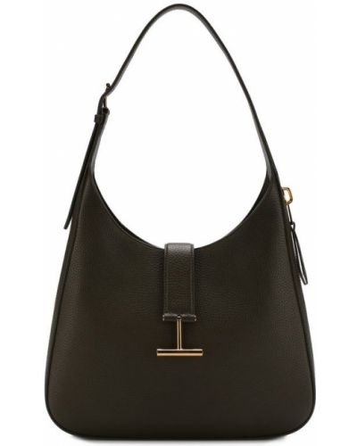 Кожаный сумка с пряжкой с ручками Tom Ford