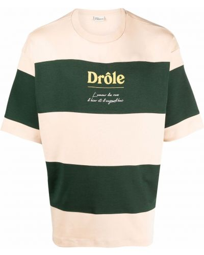 Zielona koszulka krótki rękaw Drole De Monsieur