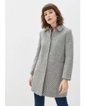 Пальто демисезонное серое Yumi