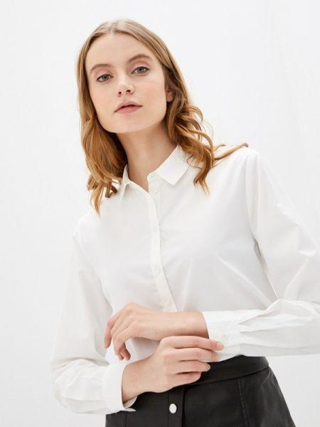Рубашка с длинным рукавом белая в полоску Jacqueline De Yong