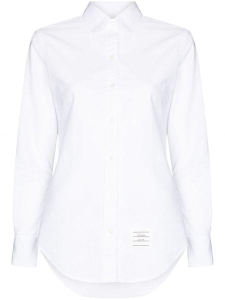 Рубашка с длинным рукавом - белая Thom Browne