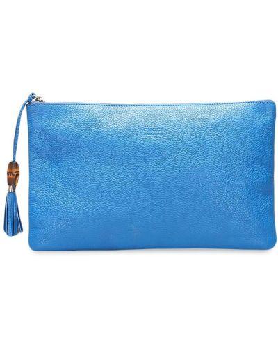 Złota kopertówka - niebieska Gucci Pre-owned