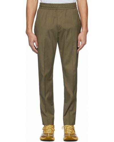 Spodnie khaki - zielone Acne Studios