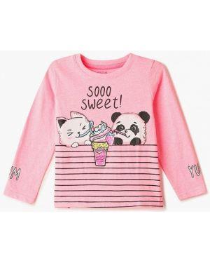 Розовая футболка O'stin