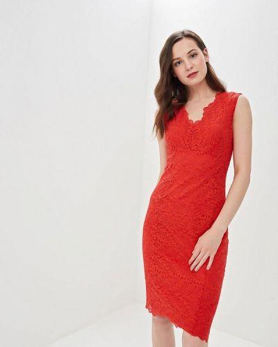 Вечернее платье весеннее красный Wallis