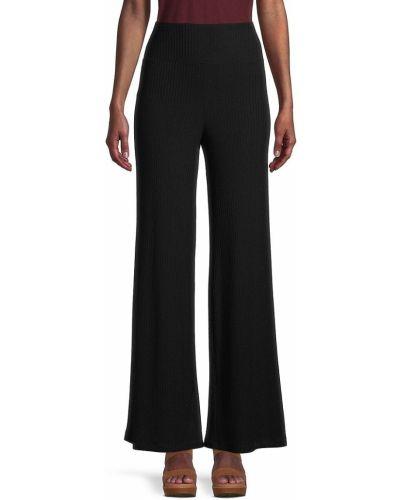 Spodnie prążkowane - czarne Bailey 44