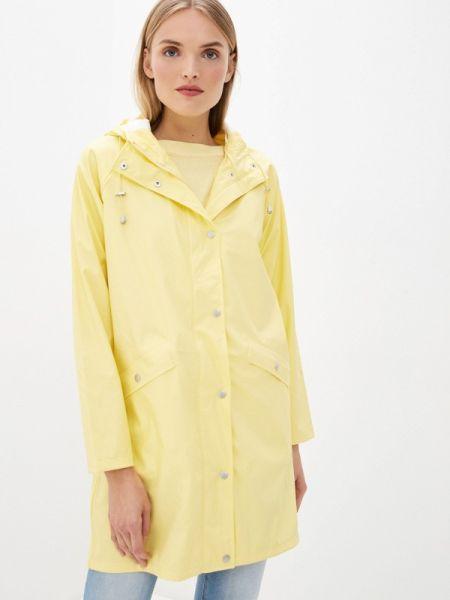 Плащ весенний желтый Ichi