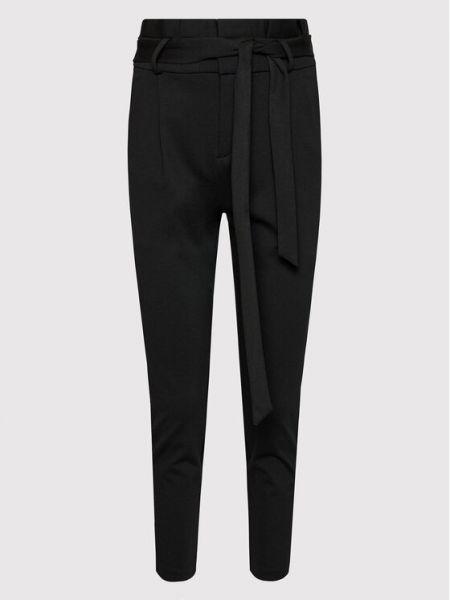 Spodnie materiałowe - czarne Vero Moda