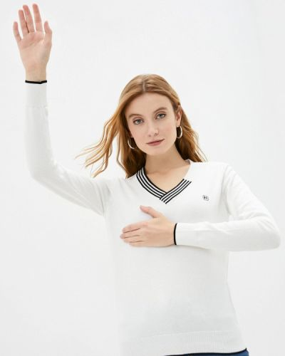 Белый пуловер Felix Hardy