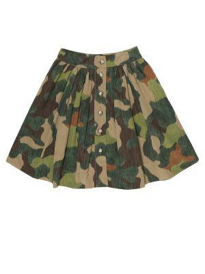 Bawełna bawełna zielony spódnica Morley