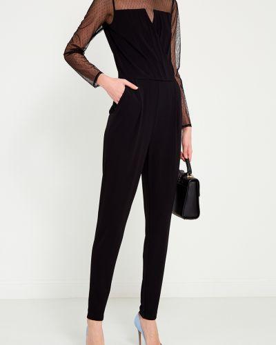 Брючный комбинезон с широкими брюками черный Michael Michael Kors