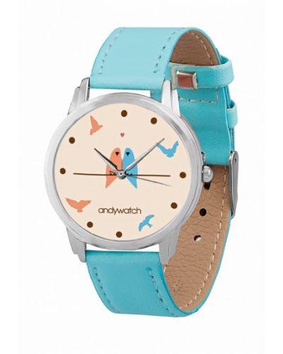 Голубые часы Andywatch