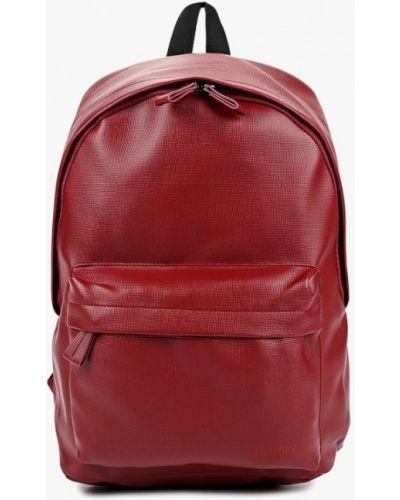Кожаный рюкзак - бордовый Kawaii Factory