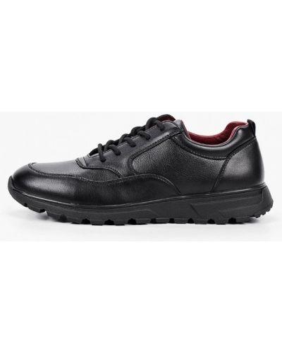 Кожаные черные кроссовки Go.do.