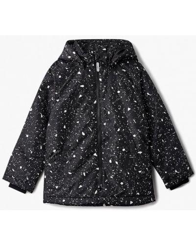 Черная куртка теплая Name It