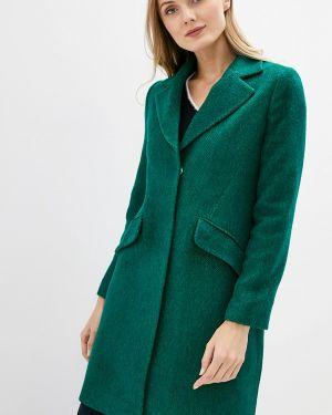 Пальто демисезонное зеленое Adl