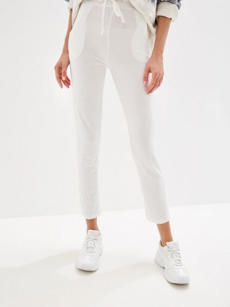 Спортивные брюки белые By Swan