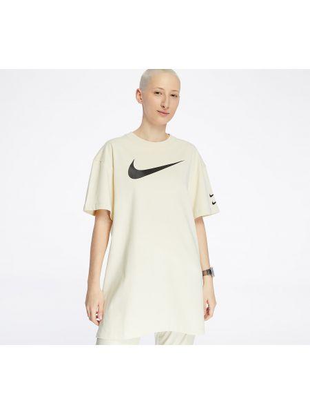 Платье спортивное черное Nike