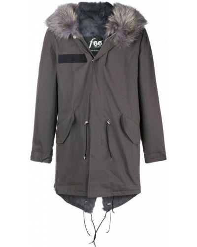 Парка на пуговицах Furs66