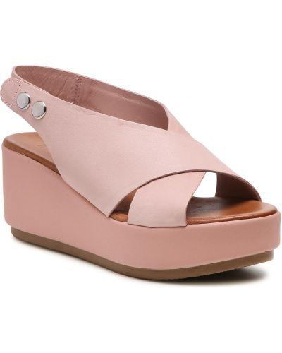 Różowe sandały casual Inuovo