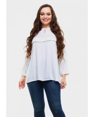 Блузка белая осенняя Magwear