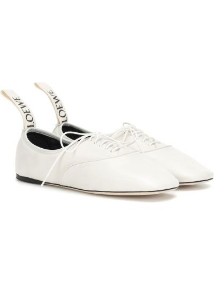 Baleriny biały Loewe