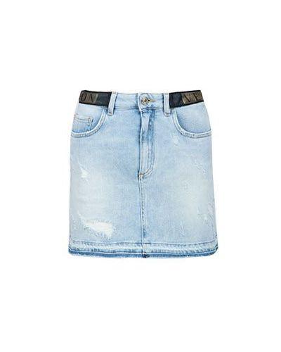 Джинсовая юбка Versace Collection