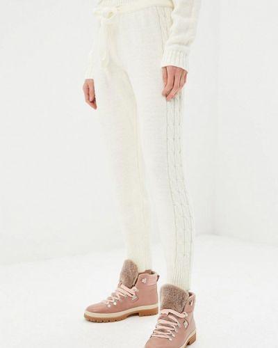 Белые брюки повседневные Perfect J
