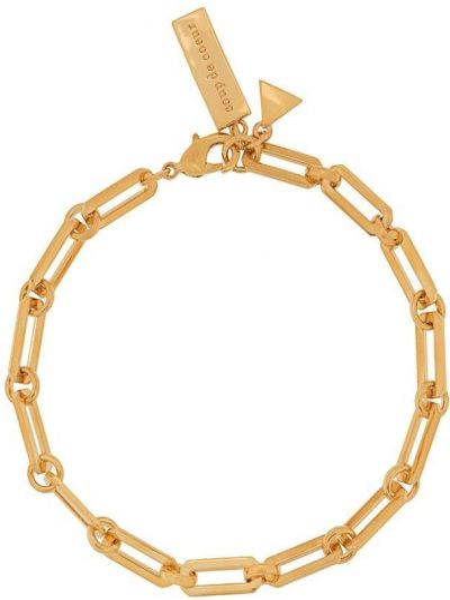 Золотистый желтый браслет Coup De Coeur