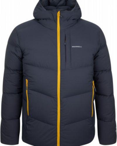 Утепленная пуховая синяя куртка Merrell
