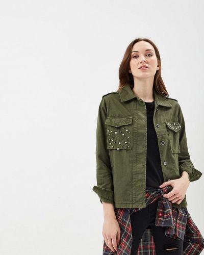 Джинсовая куртка весенняя облегченная Jennyfer