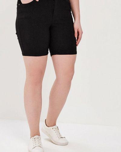 Черные джинсовые шорты Junarose