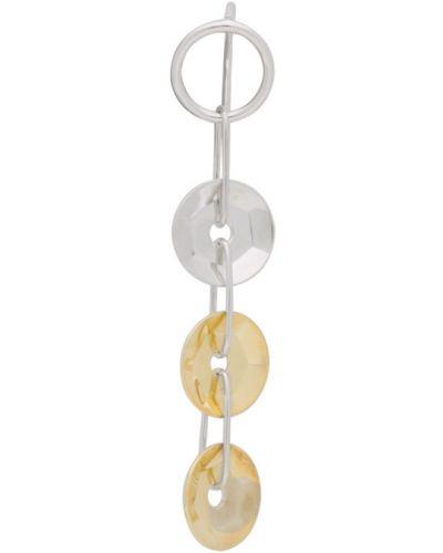 Złote srebrne kolczyki Avgvst Jewelry