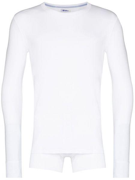 Piżama z długimi rękawami - biała Schiesser