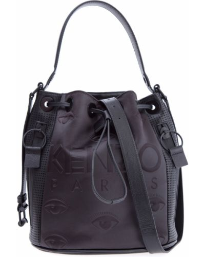 Кожаный сумка сумка-мешок с ручками Kenzo