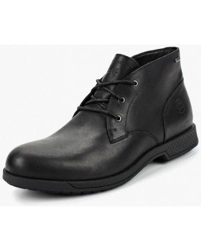 Ботинки осенние кожаные высокие Timberland