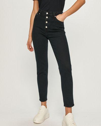 Jeansy zapinane na guziki bawełniane Calvin Klein Jeans
